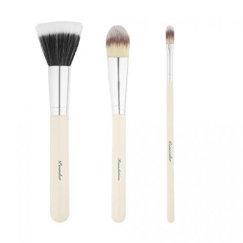 Vintage Cosmetics - Airbrush Face Brush Set